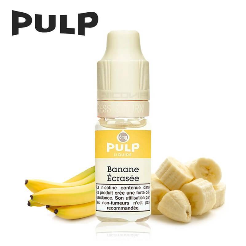 Banane Écrasée Pulp