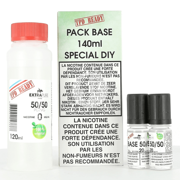 Pack DIY 50/50 Extrapure