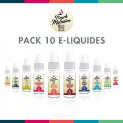 Pack 10 E-liquides Bio French Malaisien