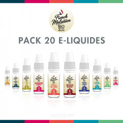 Pack 20 E-liquides Bio French Malaisien