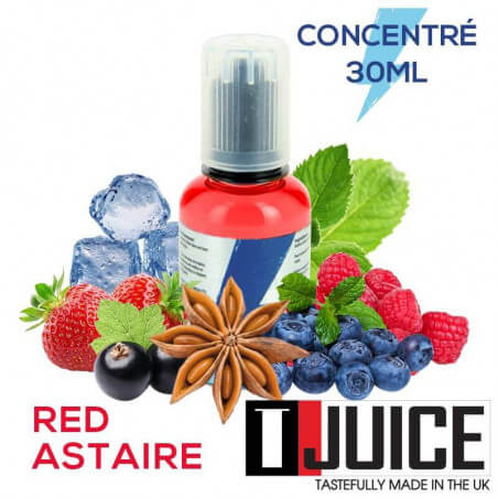 Arôme Red Astair - T-Juice 30 ml