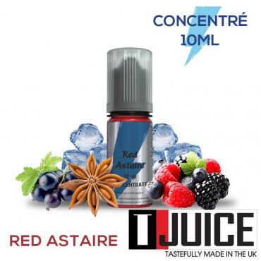 Arôme Red Astair - T-Juice 10 ml