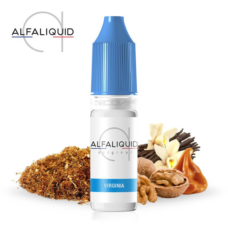 E-liquide Virginia Alfaliquid