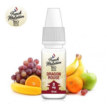 E-liquide bio Dragon Rouge French Malaisien