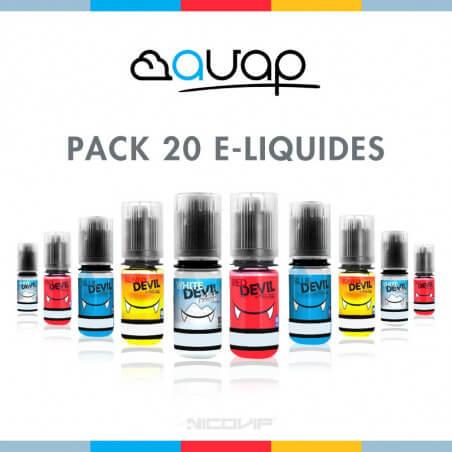 Pack 20 E-liquides Avap