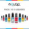 Pack 10 E-liquides Avap