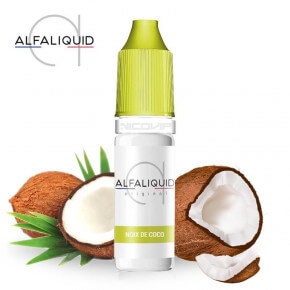 E-liquide Noix de Coco Alfaliquid