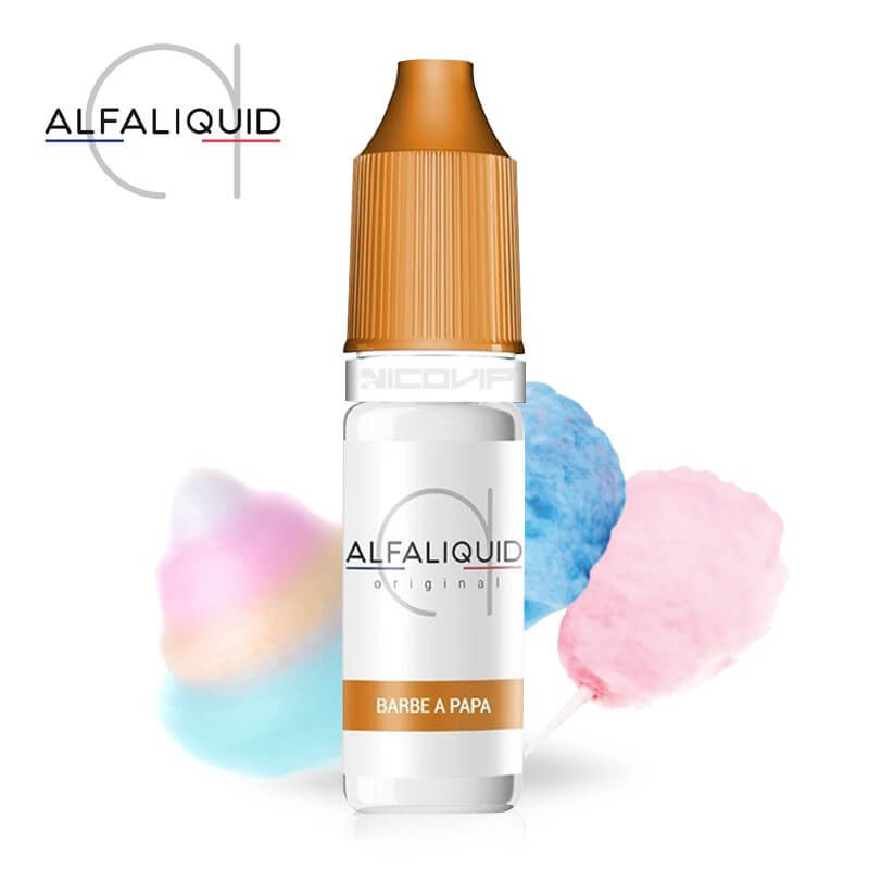 E-liquide Barbe à Papa Alfaliquid