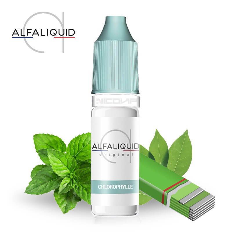 E-liquide Chlorophylle Alfaliquid