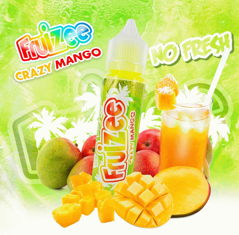 Crazy Mango No Fresh King Size Fruizee