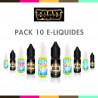 Pack 10 E-liquides ESALT