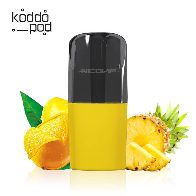 Pack 3 pods Nano Mangue Ananas Le French Liquide