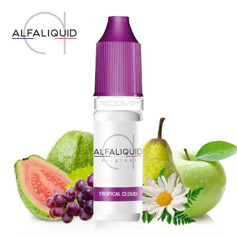 E-liquide Tropical Cloud Alfaliquid