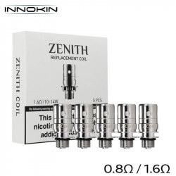 Pack 5 résistances Zenith Innokin