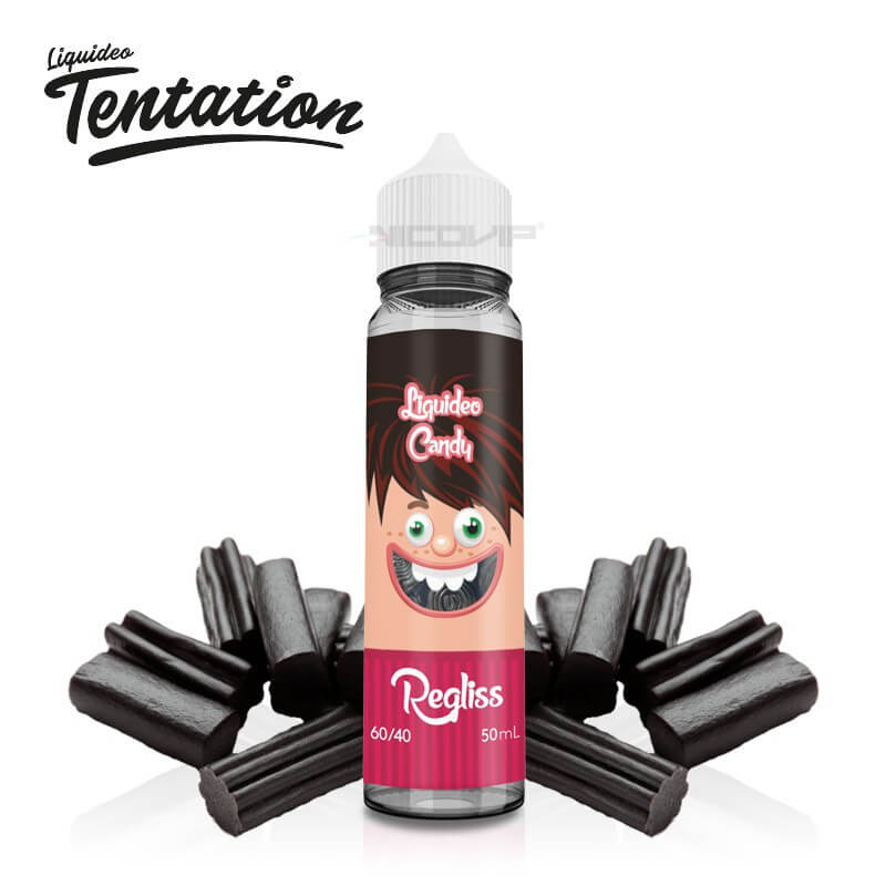 Réglisse Tentation Liquideo 50 ml