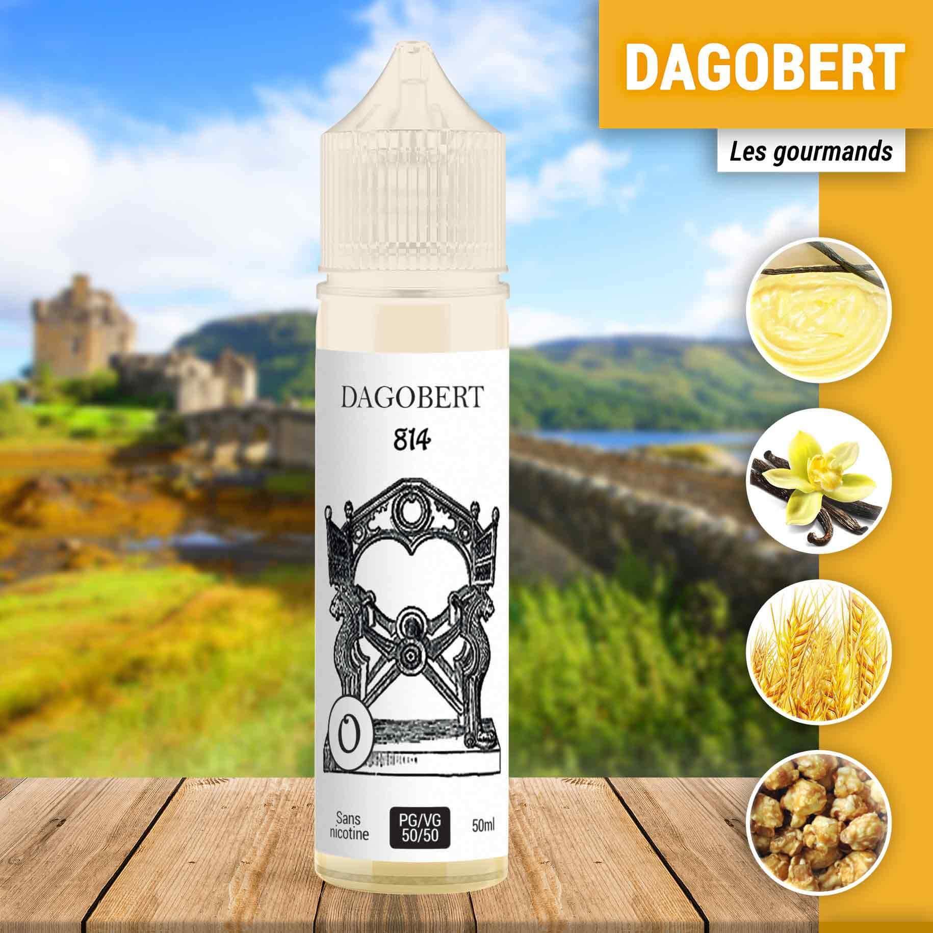 E-liquide Dagobert 814 50 ml