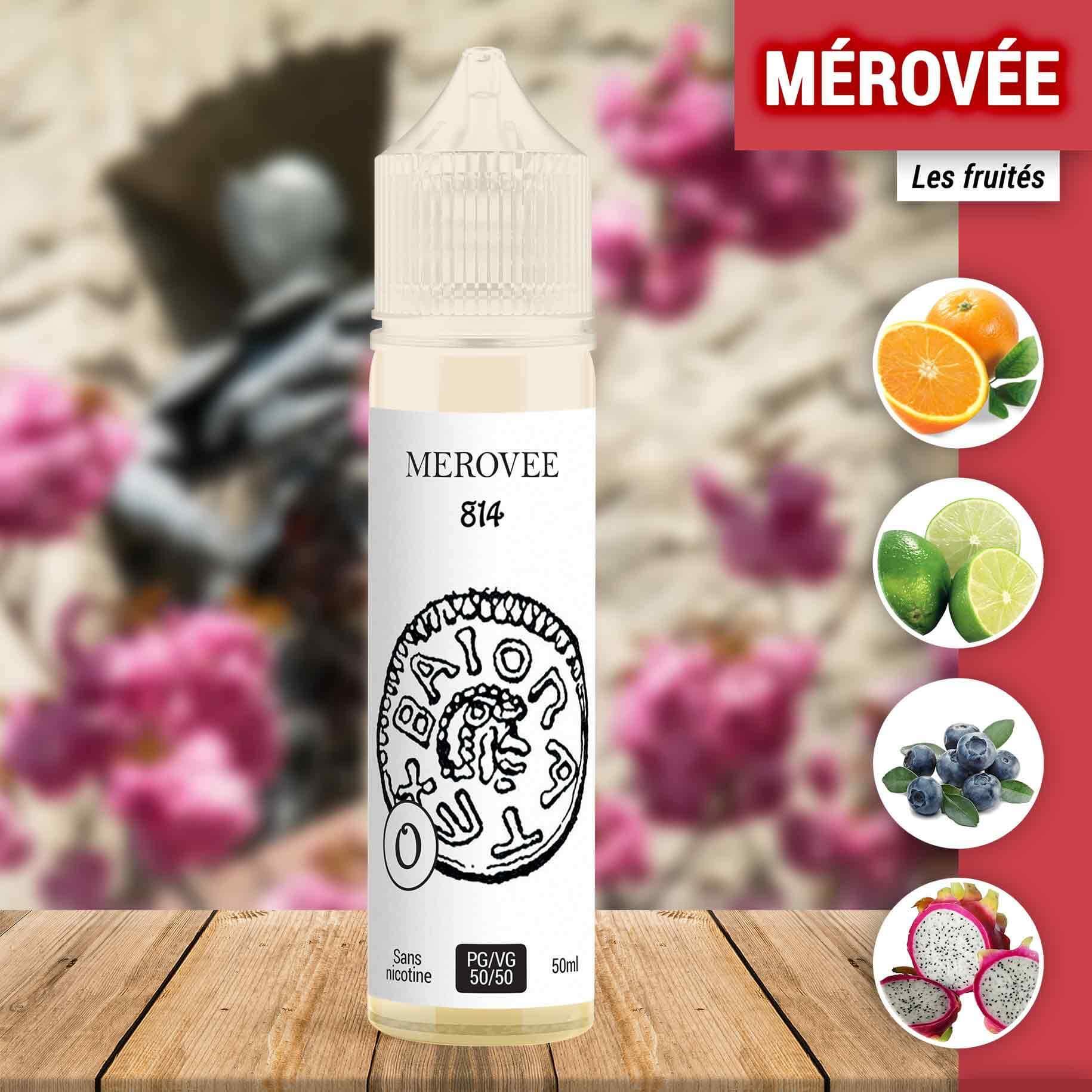 E-liquide Mérovée 814 50 ml