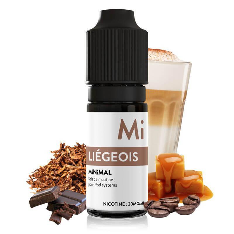 E-liquide Liégois Minimal