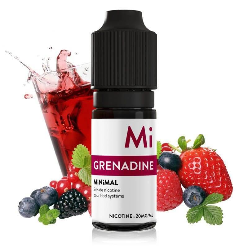 E-liquide Grenadine Minimal