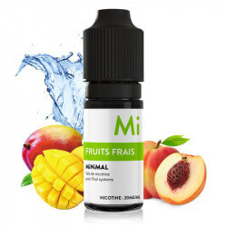 E-liquide Fruits Frais Minimal