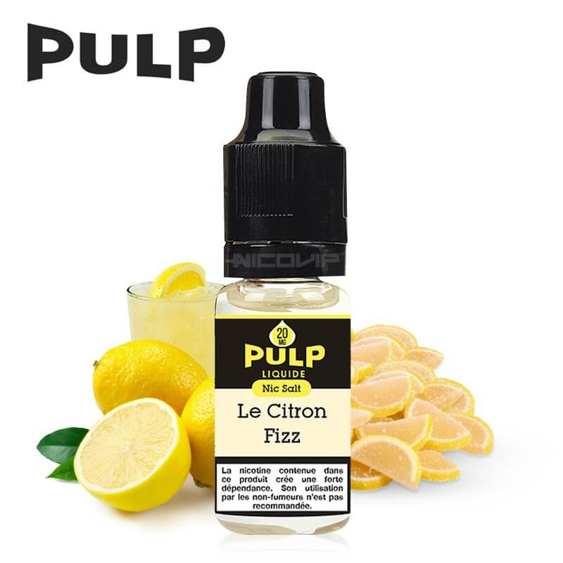 Citron Fizz Pulp Nic Salt