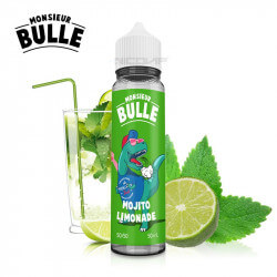 Limonade Mojito Monsieur Bulle 50 ml