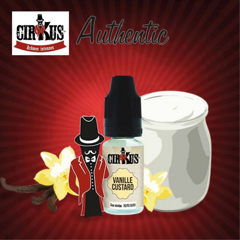 Vanille Custard Cirkus Authentic