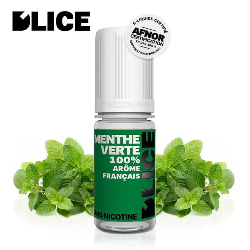 E-liquide D'LICE Menthe Verte
