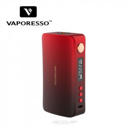 Box GEN 220W Vaporesso rouge
