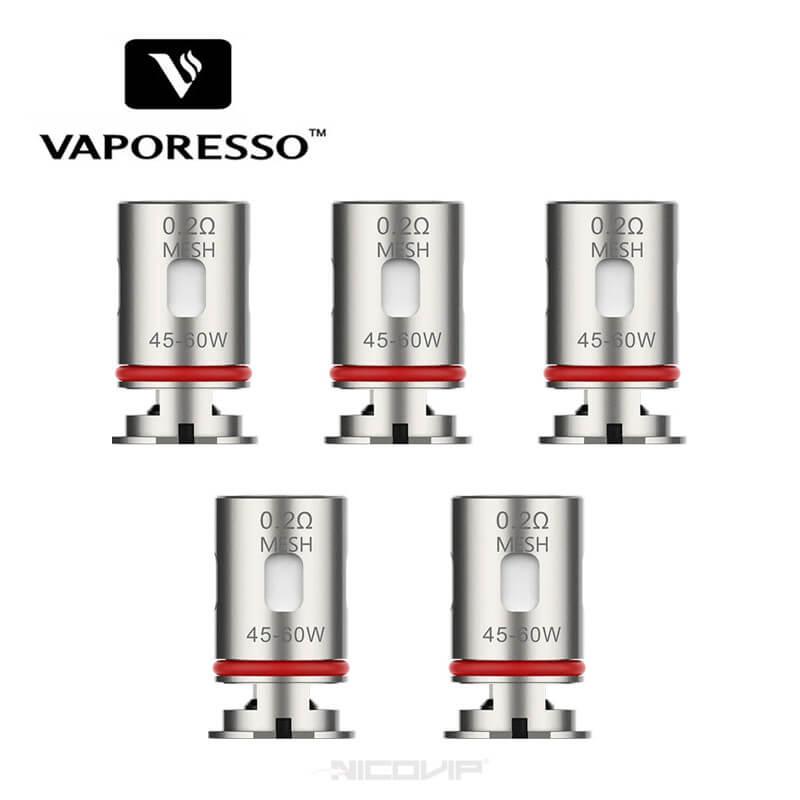 Pack de 5 résistances GTX Vaporesso