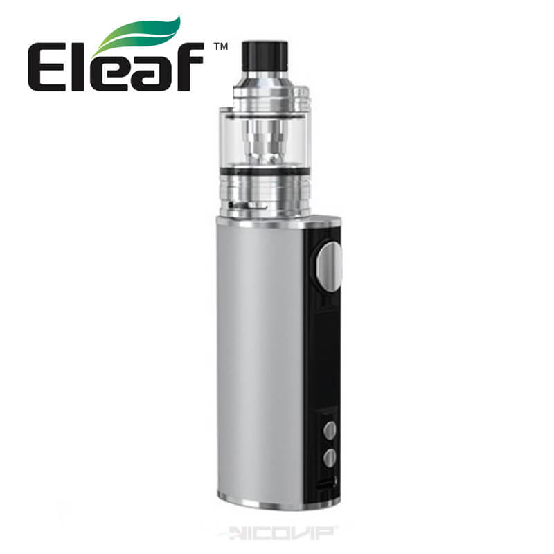 Kit iStick T80 Rubber Eleaf gris