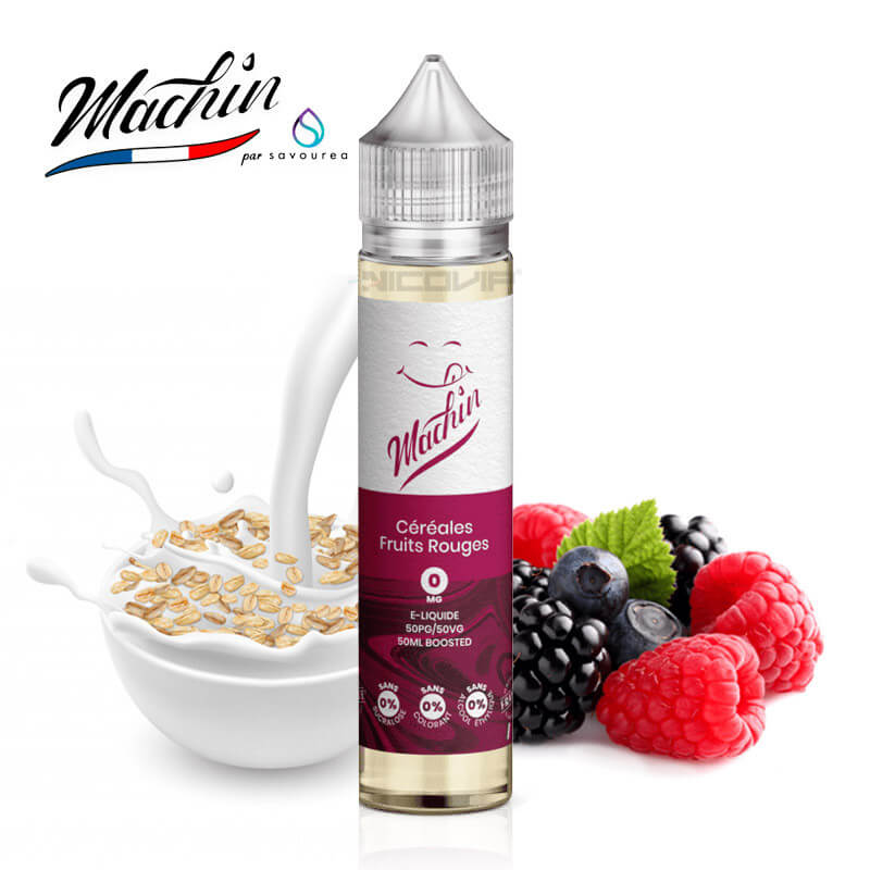 Céréales Fruits Rouges Machin 50 ml
