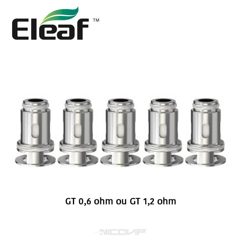 Pack 5 résistances GT Eleaf