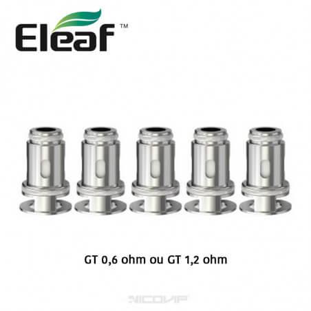 Pack 5 résistances GT Eleaf