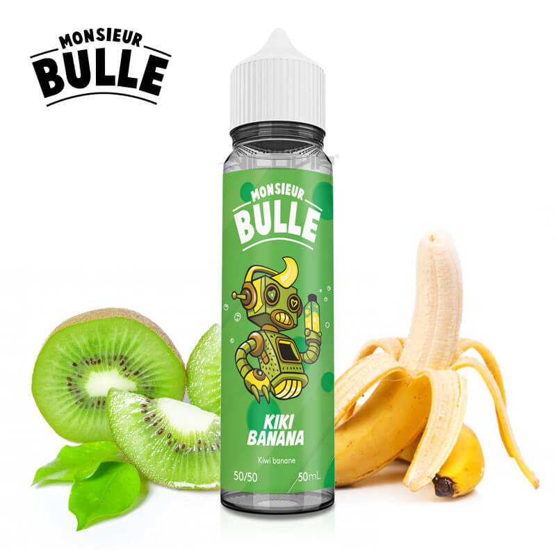 Kiki Banana Monsieur Bulle 50 ml