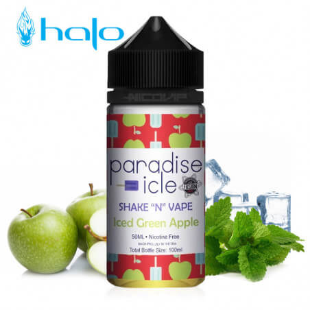 Paradise-icle Iced Green Apple Halo 50 ml