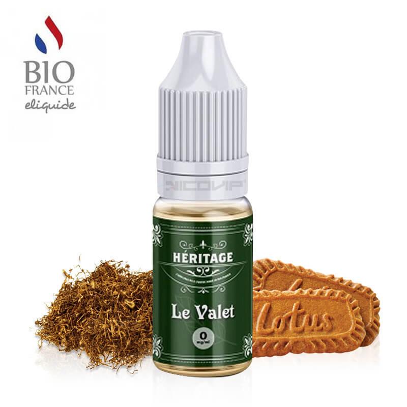 Le Valet Héritage Bio France E-liquide