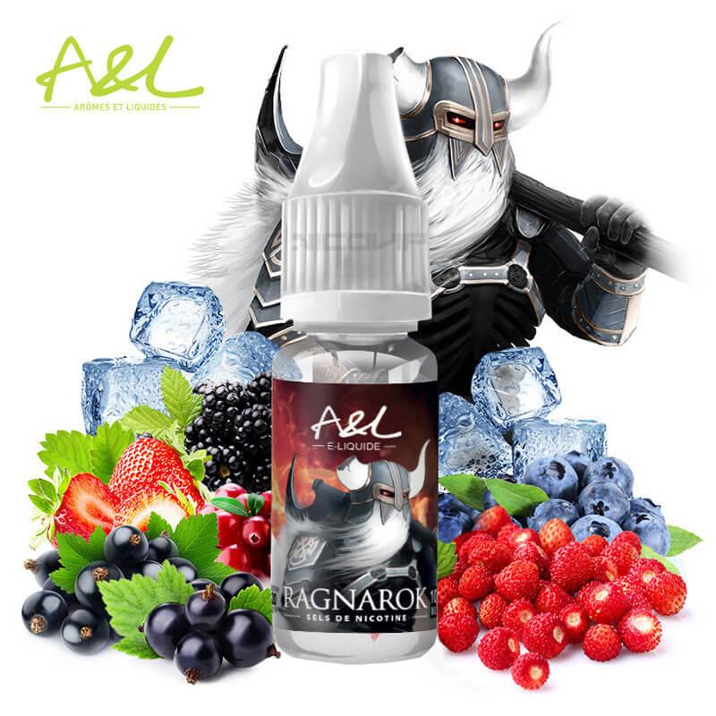 Ragnarok Ultimate Sels de nicotine A&L