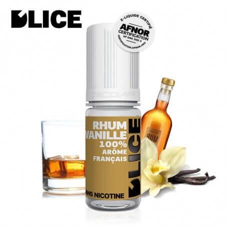 E-liquide Rhum Vanille D'lice