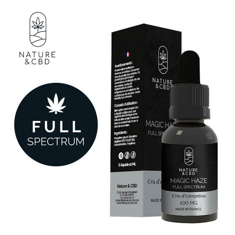 Magic Haze Full Spectrum Nature & CBD