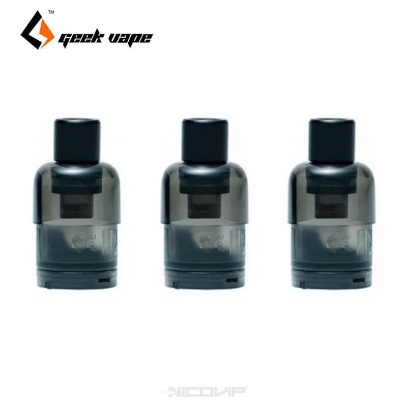 Pack 3 pods Wenax Stylus Geek Vape