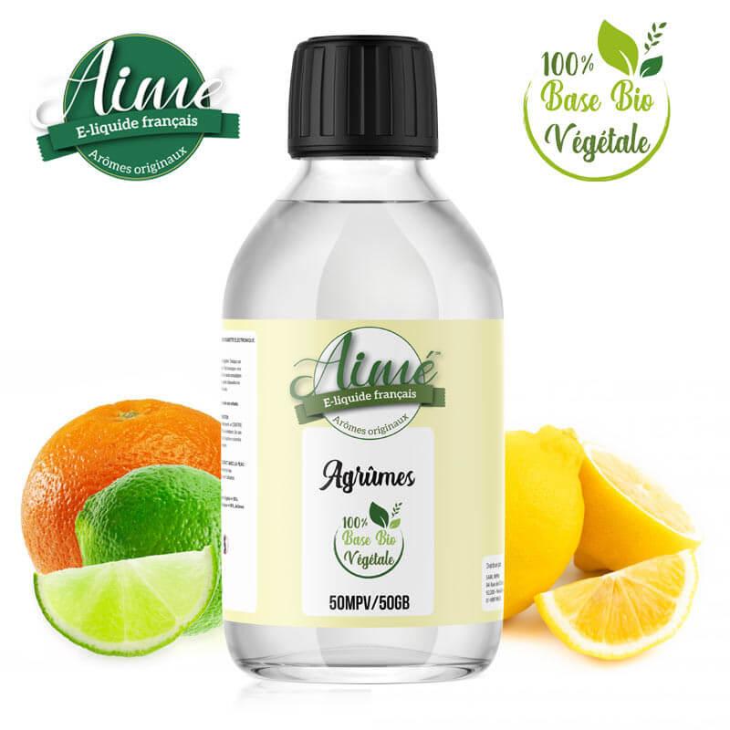 E-liquide Bio Agrumes Aimé 200 ml
