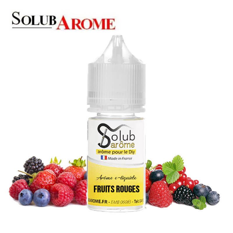 Arôme Fruits Rouges Solubarome 30 ml
