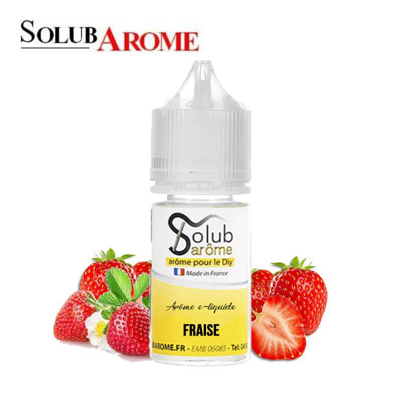 Arôme Fraise Solubarome 30 ml