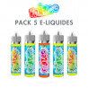 Pack e-liquides Fruizee 50 ml