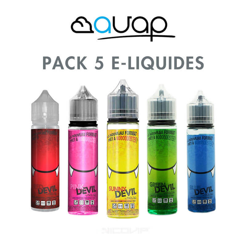 Pack e-liquides Devil AVAP 50 ml