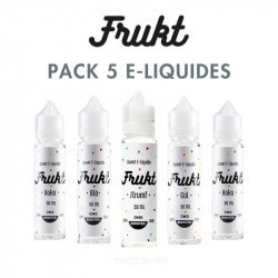 Pack e-liquides Frukt 50 ml