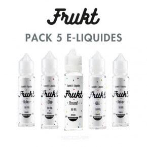 Pack e-liquides Frukt 50 ml
