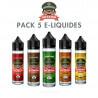 Pack e-liquides Dictator 50 ml