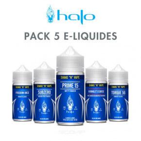 Pack e-liquides Halo 50 ml